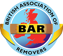 We are members of the BAR. British Association of Removers